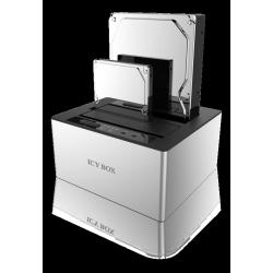 "ICYBOX SATA 2.5/3.5"" dockning / klonstation"