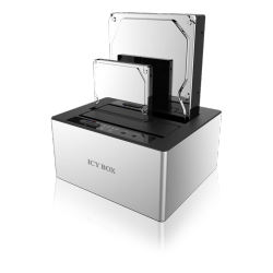 "ICYBOX SATA-kabinett 2x 2.5"" SATA"