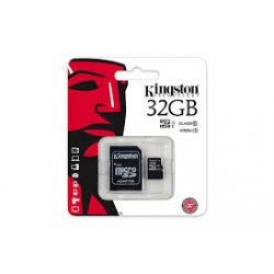 Kingston microSDHC 32GB Class 10 UHS-1 (inkl. SD-adapter)