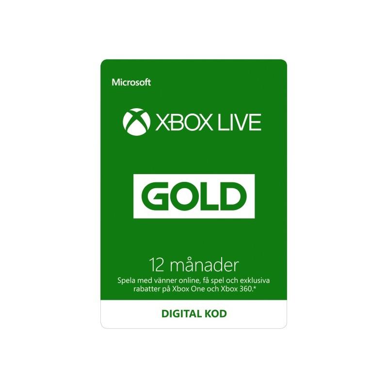 xbox live gold 3 månader