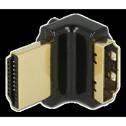 DeLOCK HDMI-vinkeladapter (uppåttvinklad 90°)
