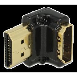 DeLOCK HDMI-vinkeladapter (nedåtvinklad 90°)