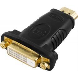 HDMI till DVI-D-adapter