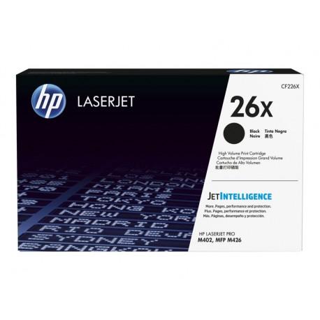 HP 26X svart original LaserJet-tonerkassett, (hög kapacitet)