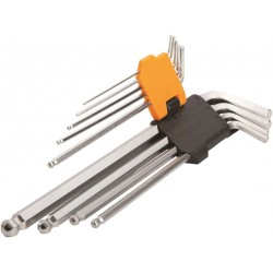 Insexnyckelsats 9 delar (1,5-10 mm)