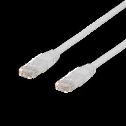 Cat6a U/UTP patchkabel 0,5m (Vit)