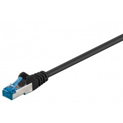 CAT 6a 0,5m patchkabel (Vit, S/FTP, PiMF)