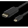 USB-C till DisplayPort-kabel, 1m