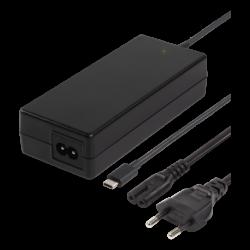 DELTACO 87W USB C Laptopladdare 2m USB