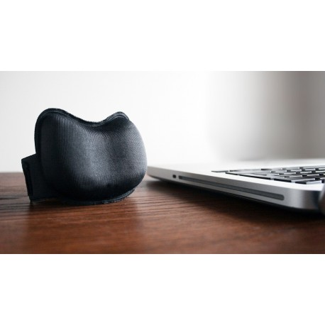 DuoPad handledsstöd (Svart)