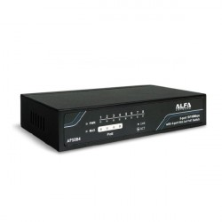 ALFA Networks Switch med PoE (10/100 Mbps, 8 portar)
