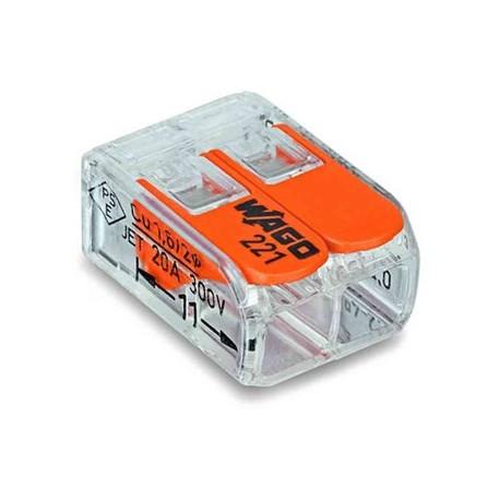 Kopplingsklämma Wago 221-412 (100-pack)
