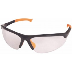Skyddsglasögon med UV-skydd, N166, Svart/Orange