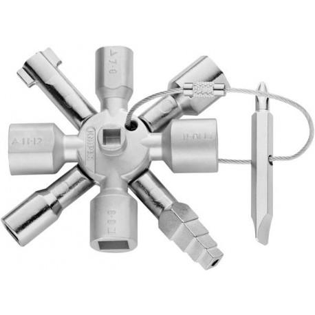 Universalnyckel TwinKey, Knipex
