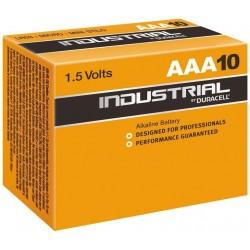 DURACELL INDUSTRIAL batteri LR03/AAA (10 ST)