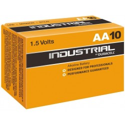 DURACELL INDUSTRIAL Batteri LR6/AA (10 ST)