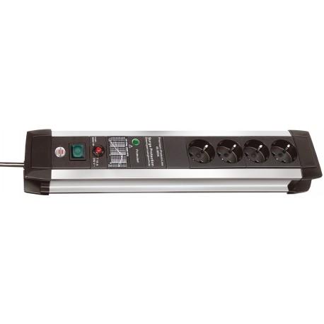 Brennenstuhl Premium-Protect-Line 60 000A 4-vägs Grenuttag 3m H05VV-F 3G1,5