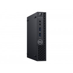 Dell OptiPlex 3060 Mikro 1 x Core i5 8500T 2 1 GHz RAM 8 GB SSD 256 GB UHD Graphics 630 GigE WLAN 802 11a b g n ac Bluetooth 4 1