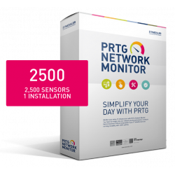PRTG Network Monitor 2500 (24 months)