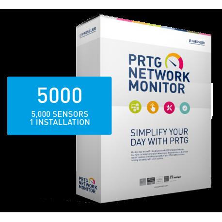 PRTG Network Monitor 2500 (36 månader)