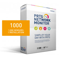 PRTG Network Monitor 1000 (24 months)