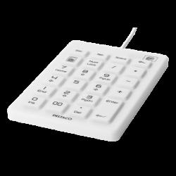 Silicone Numpad (IP68, White)