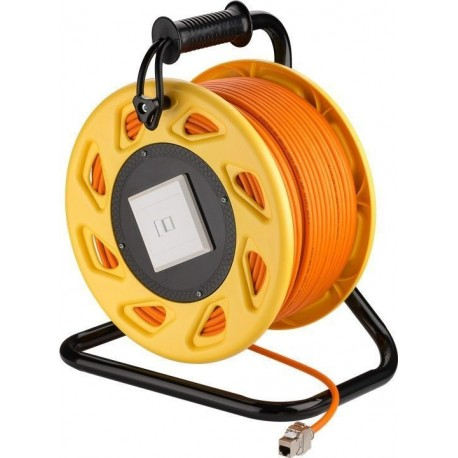 Portable RJ45 Network Cable Reel extension (90 m)