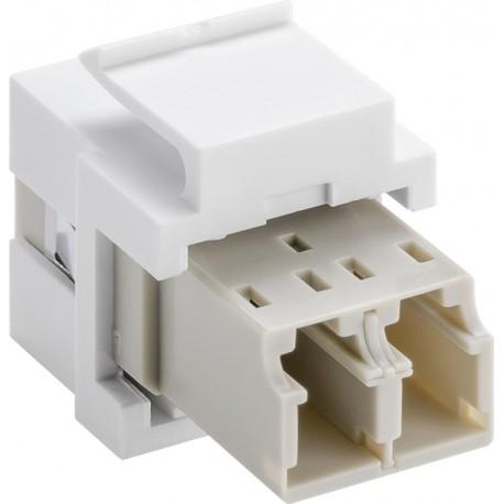 KeyStone fibre optic cable module (2 x LC-Duplex female)