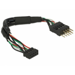 Delock Cable USB 2.0 with pin header (12cm)