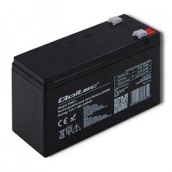 Qoltec AGM-batteri 12V, 9Ah