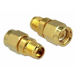Delock Adapter RP-SMA Plug to SMA Jack