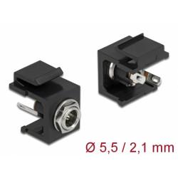 Keystone Module DC 5.5 x 2.1 mm female