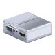 Thunderbolt till HDMI/DVI/VGA-adapter.