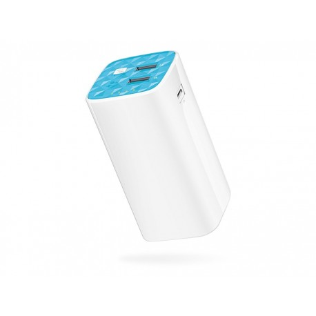 TP-Link Powerbank 10400mAh 2 x USB med lampa